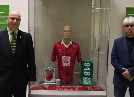 """Поради засилен интерес юбилейната изложба """"100 кадъра от 100 години футбол в Пазарджик"""" ще бъде удължена с още месец"""