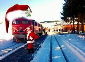 На 22 декември: Дядо Коледа, Снежанка и джуджетата ще ви посрещнат в теснолинейката