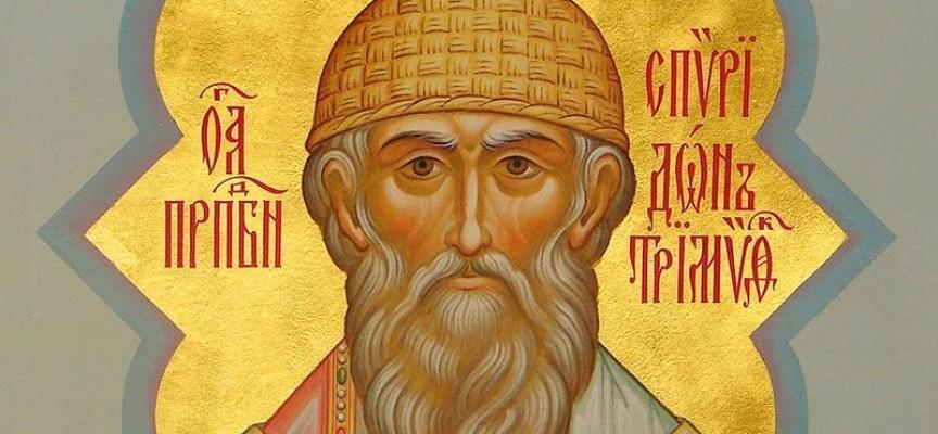 Църквата почита днес Св. Спиридон, в следващите 12 дни гадаем за времето догодина