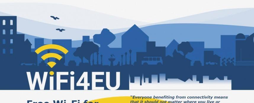 Шест общини ще имат безплатен интернет по инициативата WiFi4EU, ето кои са те