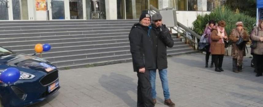 Румен Топчев е късметлията с чисто нова кола от Спорт – тото