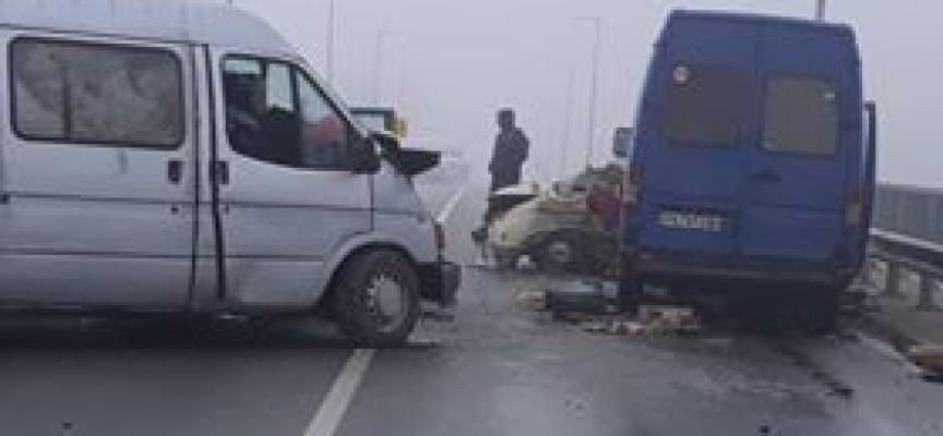 Семейни двойки от Братаница и Ветрен дол са жертвите на замръзналия път