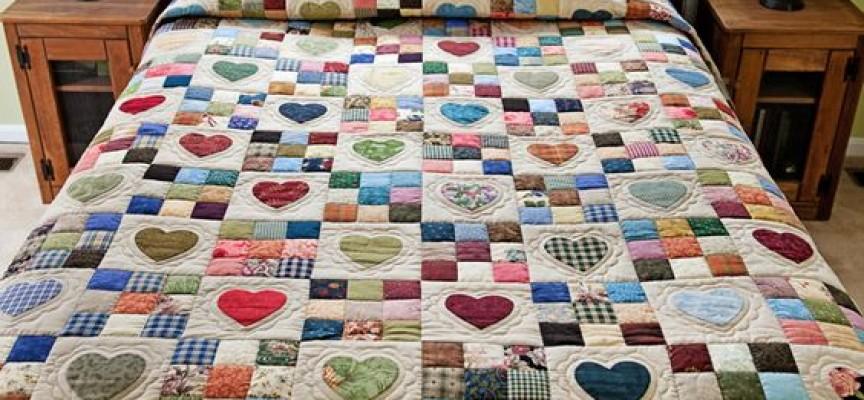 Къщовница: Изработете си сами шалте за леглото или постелка за игра в градината