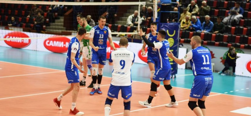 Волейбол: Отборът на Добруджа е първият полуфиналист в турнира за Купата на България, Хебър играе от 17.45 ч., елате в залата