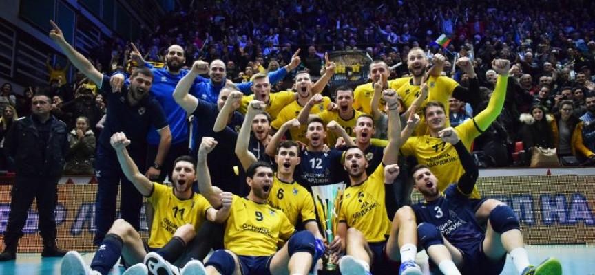 Хебър надигра Дунав в първата среща от плейофите за Суперлигата