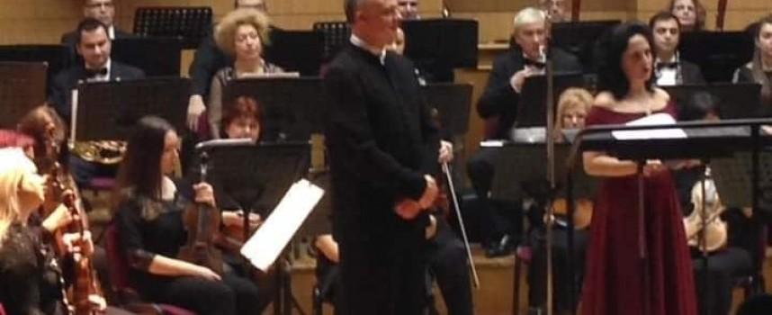 Диригентът на пазарджишкия симфоничен оркестър Григор Паликаров празнува имен ден