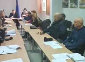 Областният съвет за превенция проведе първо заседание