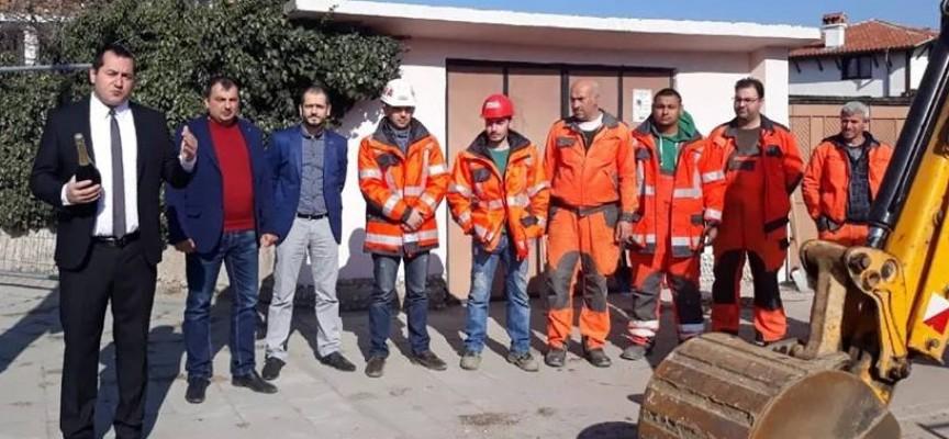 В Карабунар: Започва ремонт на пътя за Калугерово