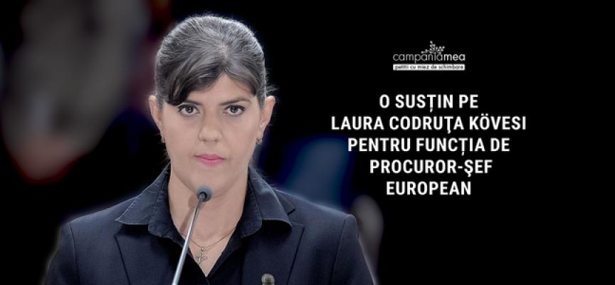 Лаура Кьовеши спечели поста на Главен европрокурор