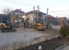 """Септември: От утре до осми март ул. """"В.Левски"""" часове наред без вода заради ремонт"""