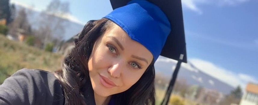 Ренета Камберова вече е магистър, честито!