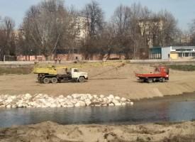Местят течението на Марица заради новия мост