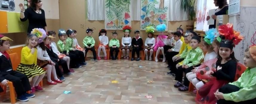 """Пазарджик: Пролетта влезе първо в Детска градина """"Дъга"""""""