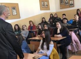 """Превенция срещу кибертормоз и за интернет сигурност бе представена в ПМГ""""К.Величков"""""""