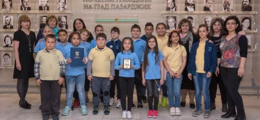 """Иновативен клас от ОУ """"Христо Ботев"""" е """"Клас на месец март"""""""