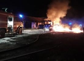 Ето какво е изгоряло снощи в стопанския двор в местността Азмъка