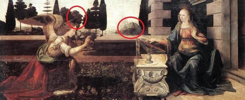 Тайни и загадки: Леонардо да Винчи и Андреа Верокио нарисували свети за Стрелча места в Благовещение?