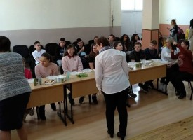 """Пазарджик: Девет ставрополчета и две учителки пристигнаха днес в СУ """"Георги Брегов"""""""