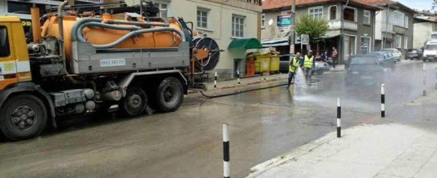 Община Сърница започва подмяната на казаните за смет