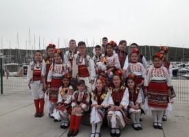 """""""Детство"""" спечели най-високото отличие от Международен детски фолклорен фестивал в Сеферихисар"""