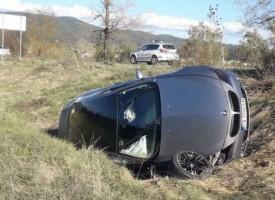 Двама пазарджиклии се спасиха като по чудо от катастрофа край разложкото село Баня