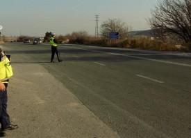 """Пътна полиция: Трафикът по АМ """"Тракия"""" е интензивен, шофирайте внимателно"""