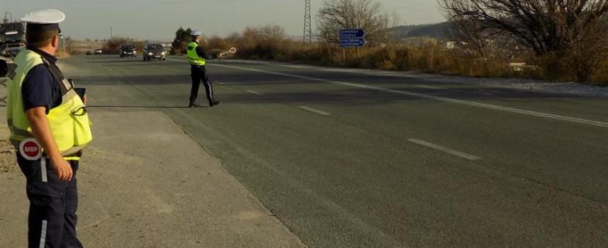 Спипаха пиян тираджия на магистралата, задържаха го в ареста