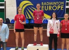 Гергана Павлова триумфира на международен турнир по бадминтон в роден Пазарджик