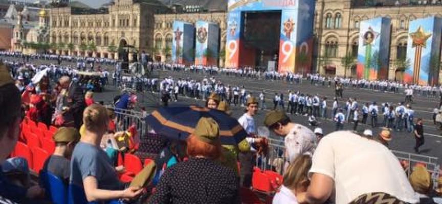 Пазарджиклии видяха парада на победата в Москва