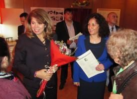 Вицепрезидент Илияна Йотова дойде за вековния юбилей на читалището в Костандово