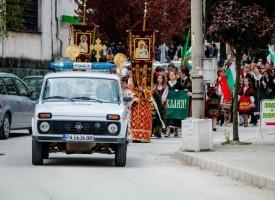Ръководството на ОДМВР благодари на служителите си за охраната на майските празници в областта