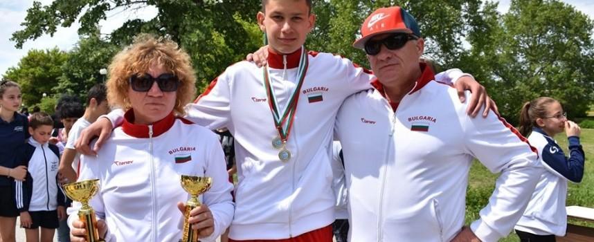 """СК""""Шампион""""с 4 купи , шампионска титла, сребро и бронз от Държавното по модерен петобой в Пазарджик"""