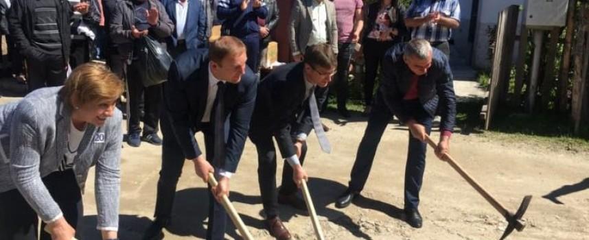 Искра Михайлова присъства на първа копка на мащабни инфраструктурни проекти в Сърница