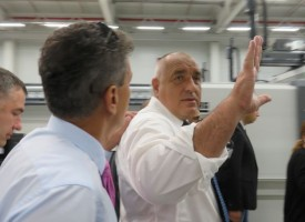 Премиерът Бойко Борисов дойде в Пазарджик