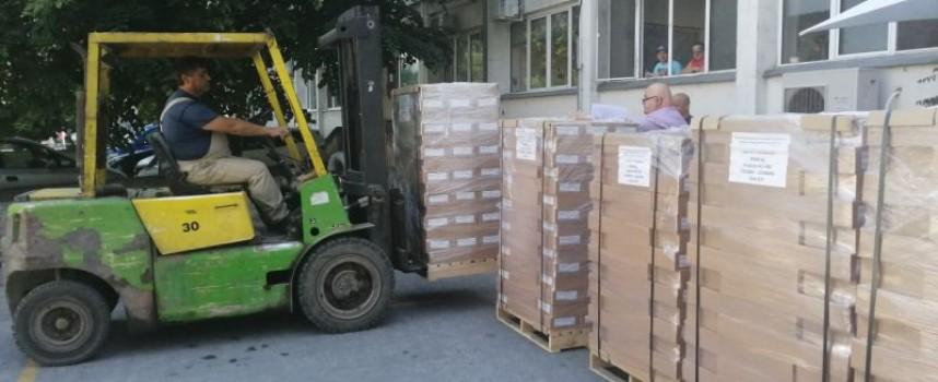 Бюлетините за евроизборите пристигнаха в Пазарджик, ще има три подвижни секции