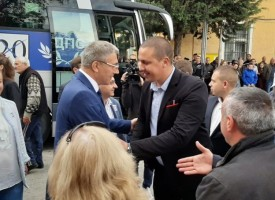 Водачът на листата на ДПС Мустафа Карадайъ посети Костандово