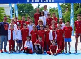 """15 медала от Държавното по акватлон и триатлон-супер спринт за СК """"Шампион"""" в Сандански"""