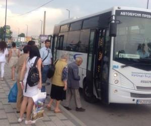 Заради изборните протоколи ще има промени в движението на автобусите по линия 10