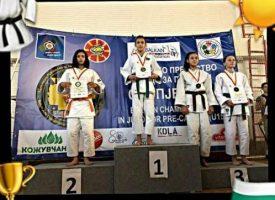 Шестокласничката Надя Джимова стана вицешампион на Балканиадата по джудо