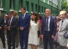 """Министър Вълчев уважи юбилея на ПГГС """"Хр.Ботев"""" във Велинград"""