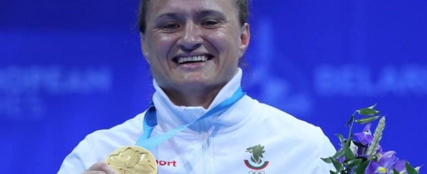 Панагюрката Мария Оряшкова донесе първото злато от Минск