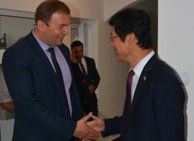 Сърница: Корейският посланик дойде за откриването на обновената сграда на общинска администрация