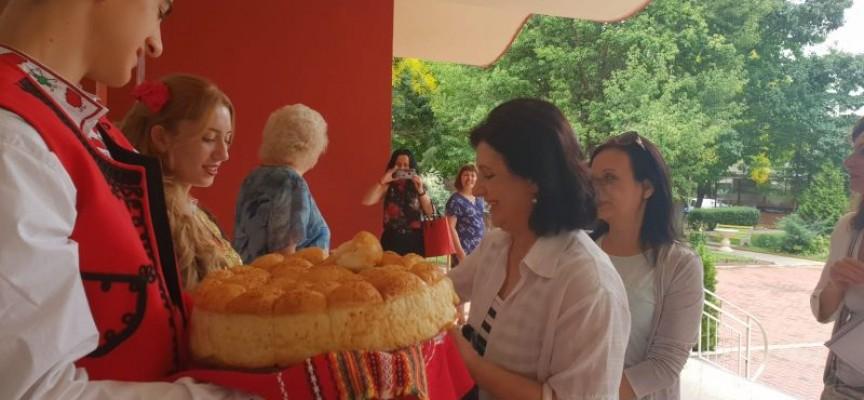 """Гости от Македония и Хърватия пристигнаха в """"Икономиката"""""""