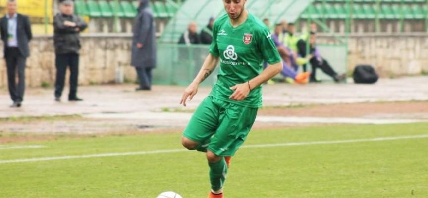 Тодор Чаворски е новият нападател в отбора на ФК Хебър