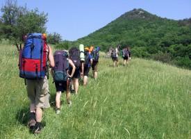 Ето какво става, когато 12 приятели тръгват на поход в планината