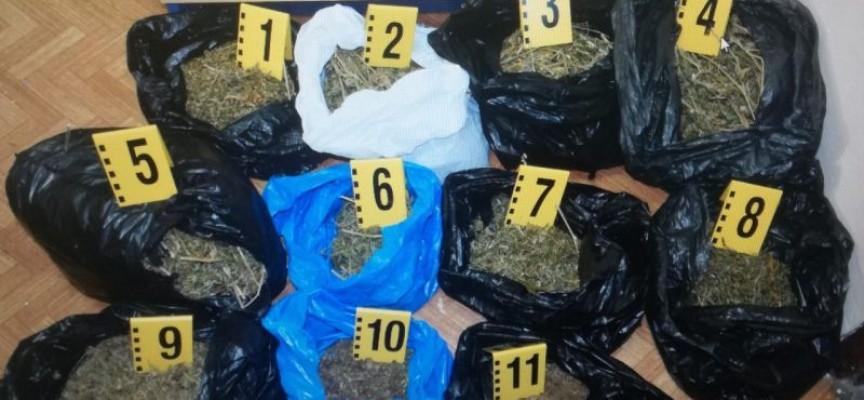 Иззеха 3.154 кг. марихуана от 50-годишен в Капитан Димитриево