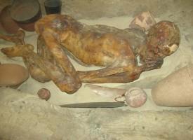 Знаете ли, че: В Британския музей съхраняват най-древната мумия на света