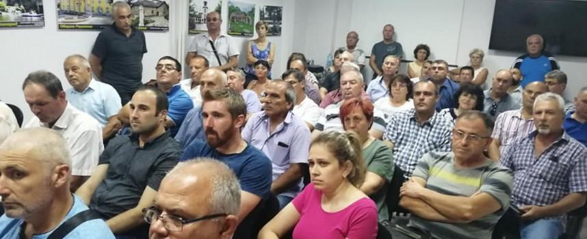 Започна срещата на министър Танева с кметовете от общината