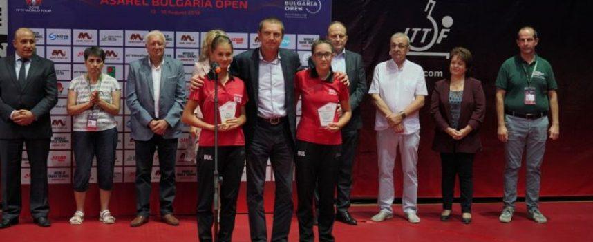 Емоционално откриване на 2019 ITTF World Tour Asarel Bulgaria Open