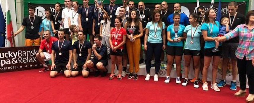 Бронз за пазарджишките бадминтонисти на Държавното отборно първенство